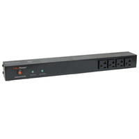 CyberPower RKBS20ST4F10R 14AC outlet(s) 120V 4.57m Black surge protector