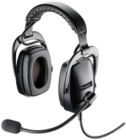 Plantronics SHR 2083 Binaural Head-band Black headset