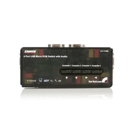 StarTech.com SV411KUSB Black KVM switch