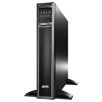 APC SMX750 750VA 8AC outlet(s) Rackmount/Tower Black uninterruptible power supply (UPS)