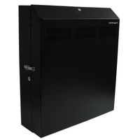 StarTech.com RK419WALVS Wall mounted rack 4U 68kg Black rack