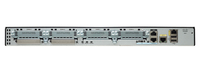 Cisco 2901 Ethernet LAN Zwart, Zilver bedrade router