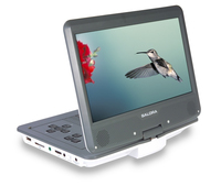 "Salora DVP1038SW Portable DVD player 10.2"" 800 x 600pixels Gris, Blanc Lecteur DVD/Blu-Ray portable"