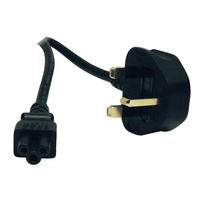 Tripp Lite P060-006 1.83m BS 1363 C5 coupler Black power cable