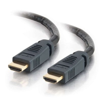 C2G 50ft Pro Series Plenum HDMI 15.24m HDMI HDMI Black HDMI cable