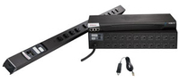 Raritan PX2-1147R 8AC outlet(s) 1U Black power distribution unit (PDU)