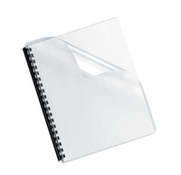 Fellowes 5293701 Plastic Transparent 100pcs binding cover