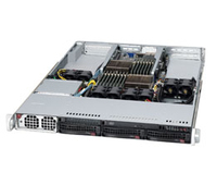 Supermicro AS-1022GG-TF AMD SR5690 Socket G34 1U Black server barebone