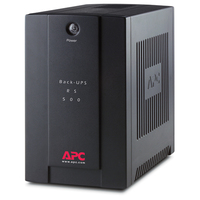 APC Back-UPS 500VA 500VA 4AC outlet(s) Mini tower Black uninterruptible power supply (UPS)