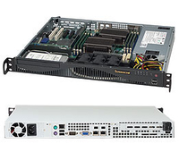 Supermicro SuperChassis 512F-600B Rack 600W Black computer case