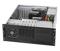 Supermicro SuperChassis 842TQ-865B Rack 865W Black computer case
