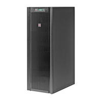 APC Smart-UPS VT 15 kVA 15000VA 1AC outlet(s) Rackmount Black uninterruptible power supply (UPS)
