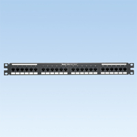 Panduit 24-port, Category 5e, patch panel 1U Patch Panel