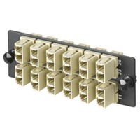 Panduit Fiber Adapter Panel for FWME 12 LC-duplex multimode Adapters Patch Panel