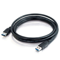 C2G 54171 2m Male Male Black USB cable
