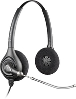 Plantronics SupraPlus HW261 Binaural Head-band Black headset