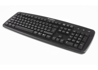 Kensington K64370A USB+PS/2 QWERTY Black keyboard