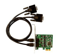 Siig DP 2-Port Industrial 422/485 PCI Express Internal Serial interface cards/adapter