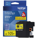 Brother LC105Y ink cartridge Yellow
