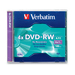 Verbatim DVD-RW 4.7GB 4X Branded 1pk Jewel Case 4.7GB DVD-RW 1pc(s)