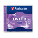 Verbatim DVD+R 4.7GB 16X Branded 1pk Jewel Case 4.7GB DVD+R 1pc(s)