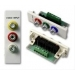 Vision TC2 3PHO 3 x Phono Blanc connecteur de fils